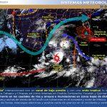 Habrá más lluvias en Carmen por Tromenta Tropical Amanda