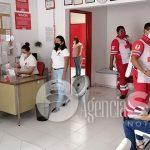 Semanalmente unas 100 pruebas salen positivas a Covid en Cruz Roja